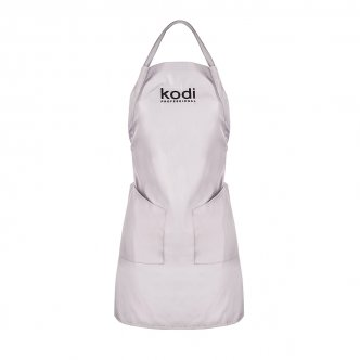 фото - Фартук Kodi professional серый с черным логотипом (короткий), Kodi