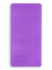 Пластина для стемпинга L14 (6x12см), Kodi