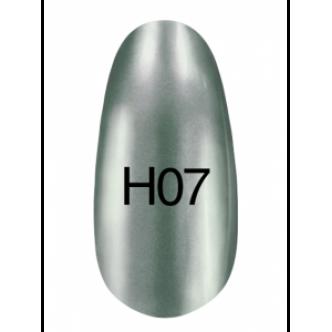 фото - Лак Hollywood 8ml  H07 ( серебро с небольшим оттенком голубого цвета), Kodi