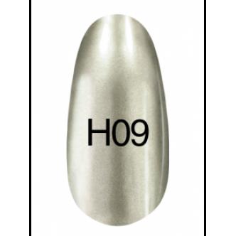 фото - Лак Hollywood 8ml  H09 (серебро с небольшим оттенком зеленого), Kodi
