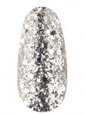 Гель лак № 40 SH (Белое серебро, брокат и глиттер), 8 мл, Kodi