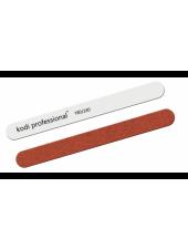 Пилка для ногтей Прямая White/Brown 180/240, Kodi